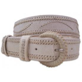 Cinturón de Cuero Crudo