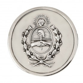 Hebilla Cinturón con Escudo Argentino