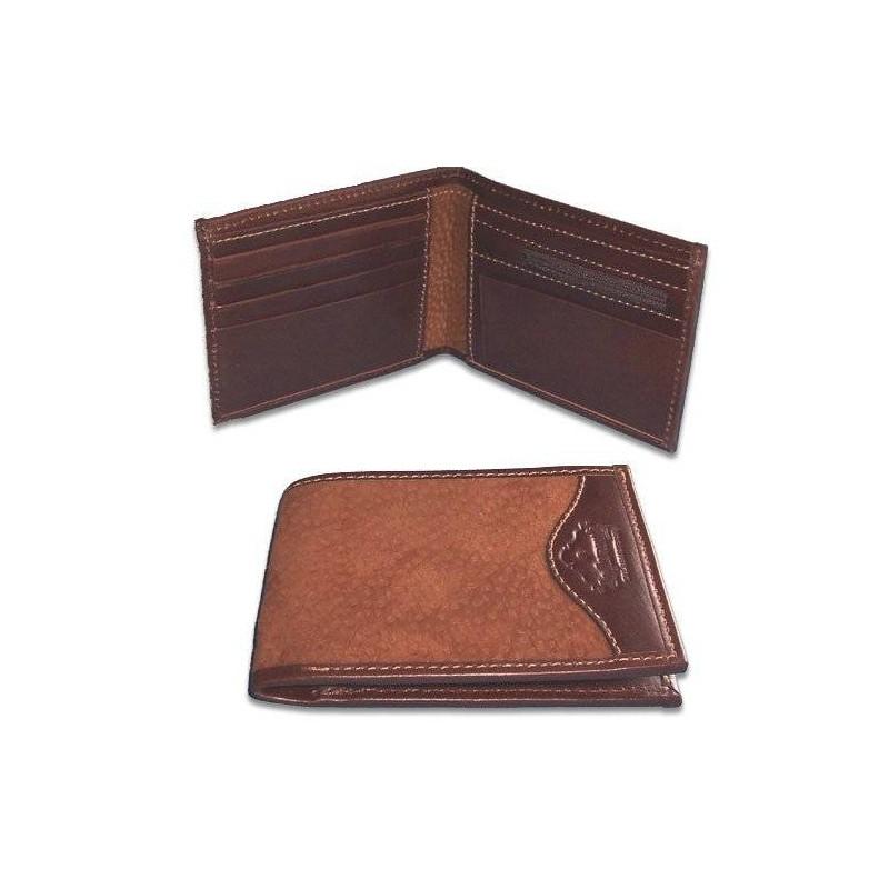 Billetera Dólar de Carpincho con Cierre