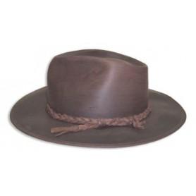 Sombrero Australiano Cuero Encerado Lagomarsino