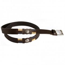 Cinturón Suela Luppi Bordado con Apliques