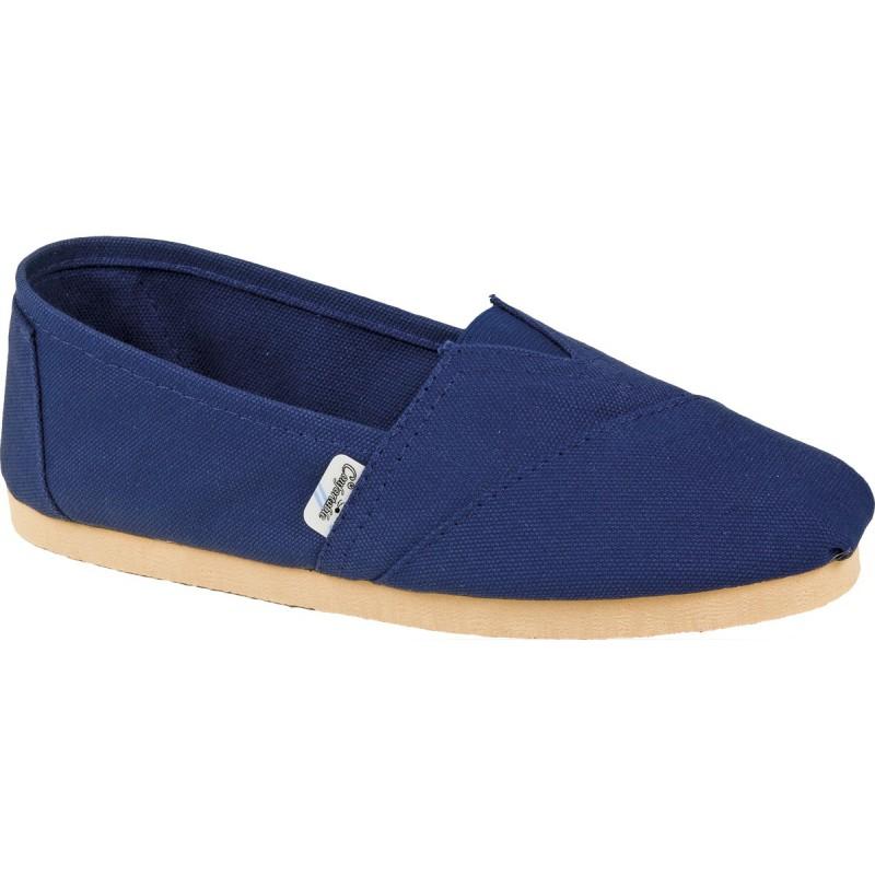 Alpargatas de Lona Reforzada Confortable Azul