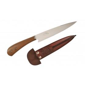 Cuchillo Libertad Mango de Madera con Aplique