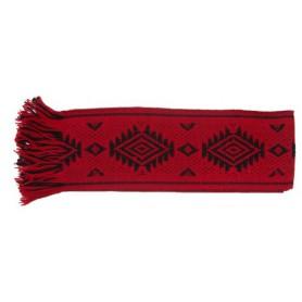 Faja Mapuche Rojo y Negro de 9 Cmts.