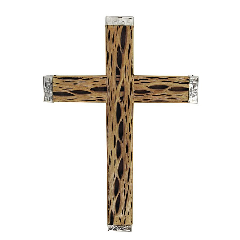 Crucifijo Chico de Cardón y Alpaca