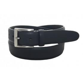 Cinturón de Vestir Bombé 35 M.M. Negro